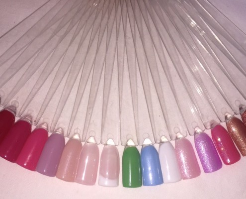 Gel colour Range Swanky Nails