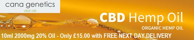 Cana Genetics CBD Oils